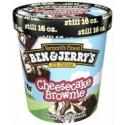 Ben & Jerry's Ice Cream Cheesecake Brownie 473ml