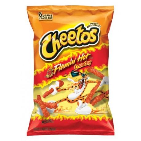 Cheetos Flamin Hot Crunchy 226.8g