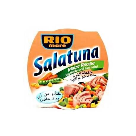 Rio Mare Salatuna Maize Recipe (Vegetables and Tuna Salad) 160g