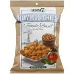 Simply 7 Hummus Chips Tomato Basil 142g