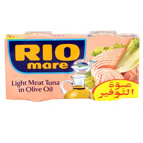 Rio Mare Light Meat Tuna Olive Oil 2x160g