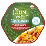John West Light Lunch Mediterranean Style Tuna Salad 240g