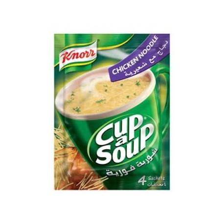 Knorr Chicken Noodle Cup a A Soup 4 sachet x 60g