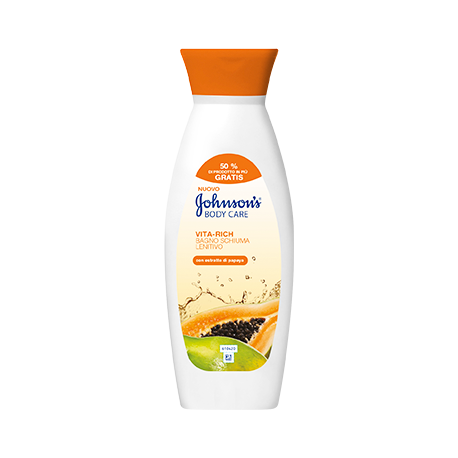 Johnson's Body Care Vita-Rich Smoothing Body Lotion with Papaya Extract 250ml