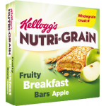 Kellogg's Nutri-Grain Fruity Breakfast Bars Apple 6x37g