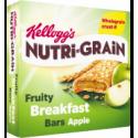 Kellogg's Nutri-Grain Fruity Breakfast Bars Apple 6x37g