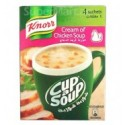 Knorr Cream of Chicken Cup a Soup 4 Sachets 72g