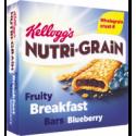 Kellogg's Nutri-Grain Fruity Breakfast Bars Blueberry 6x37g
