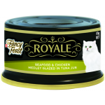 Fancy Feast Royale Seafood & Chicken Medley Glazed in Tuna Jus 85g