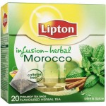 Lipton Herbal Infusion Spices & Mint 20 Teabags