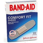 Johnson Band-Aid Comfort Fit Sheer 20