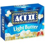 Act II Popcorn Light Butter Flavour 241.8g