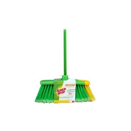 Scotch Brite Twister Fine Indoor Broom with Soft Fibers