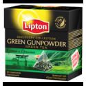 Lipton Discovery Collection Green Gunpowder 15 Pyramid Teabgas