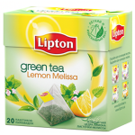 Lipton Green Tea Lemon Melissa 20 Pyramid Teabags