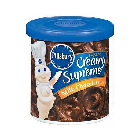 Pillsbury Creamy Supreme Milk Chocolate 453g