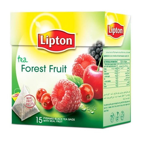 Lipton Forest Fruit Pyramid Tea Bags 15