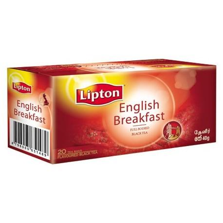Lipton English Breakfast Tea Bags 25