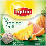 Lipton Tropical Fruit Pyramid Tea Bags 15