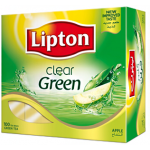 Lipton Clear Green Apple 100 Tea Bags