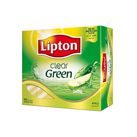 Lipton Clear Green Apple 100 Tea Bags