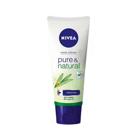Nivea Hand Cream Pure & Natural 100ml