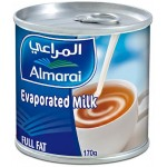 Almarai Evaporated Milk Full Fat 170g