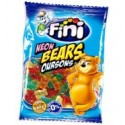Fini Neon Bears Gummy Candy 100g