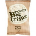 Brown Bag Crisps Lightly Salted 40g