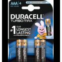 Duracell Turbo Max AAA 4x
