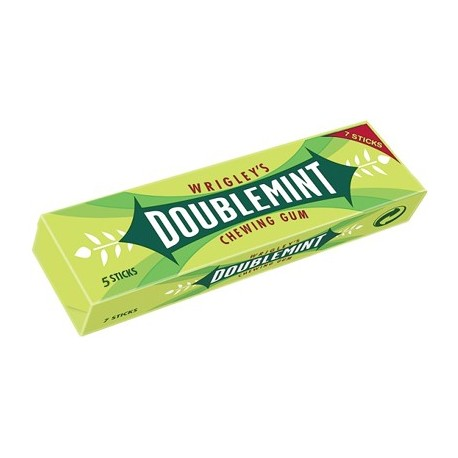 Wrigley's Doublemint 5 Sticks Chewing Gum