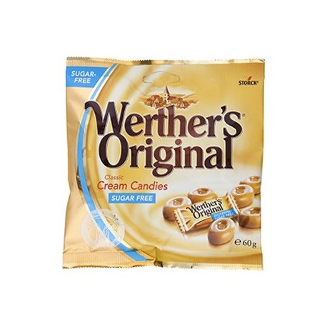 Storck Werther's Original Classic Cream Candies Sugar Free 70