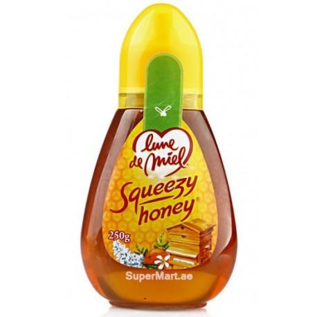 Honey Moon Squeezy Honey 250g