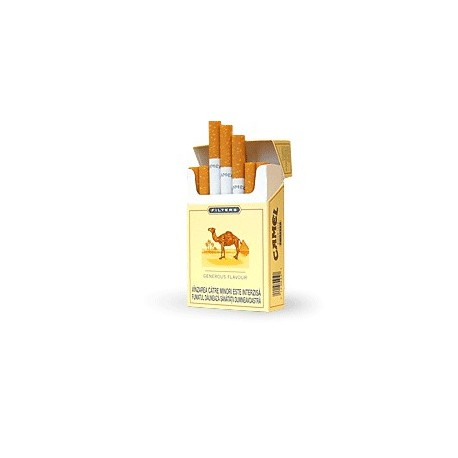 Camel Filters Yellow