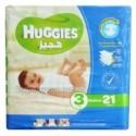 Huggies 3 Medium 4-9kg 21 Diapers