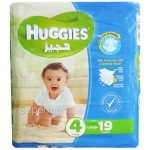 Huggies 4 Large 7-18kg 19 Diapers