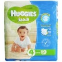 Huggies 4 Large 7-18kg 19 Diapers
