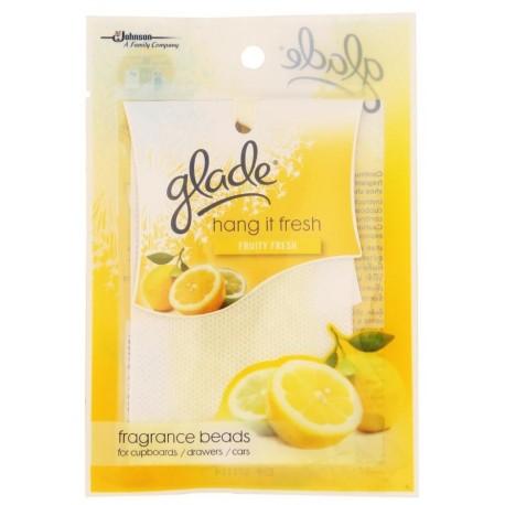 Glade Hang It Fresh Cupboard Drawer Fregnance Beads Fruity Fresh