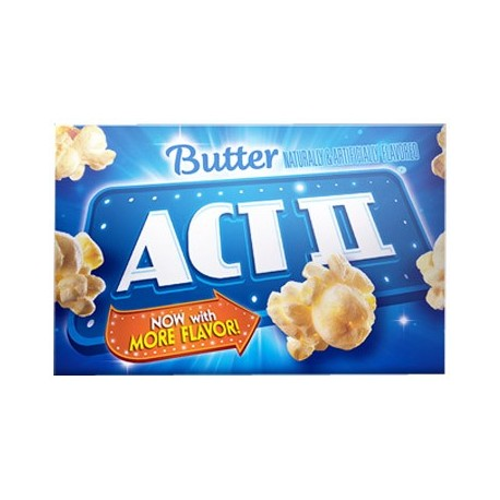 Act II Popcorn Butter Flavour 255g