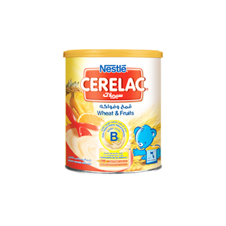 Nestle Cerelac Wheat & Fruits 400G