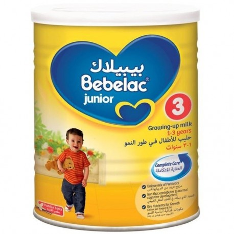 Bebelac Junior 3 Growing Up Formula 1-3 Years 400g