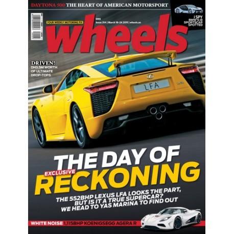 Wheels English Magazine