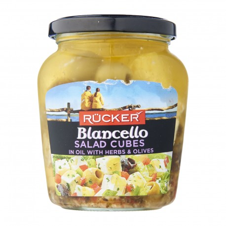 Rucker Blancello Salad Cubes In Oil With Herbs 300g