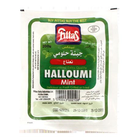 Pittas Halloumi Mint Cheese 200g