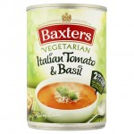 Baxters Vegetarian Italian Tomato & Basil Soup 400g