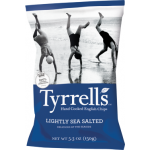 Tyrrell's Handcooked English Crisps Lightly Sea Salted 150g