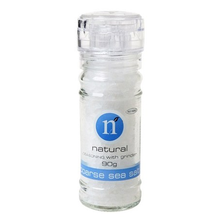 Natural Coarse Sea Salt with Grinder 110g