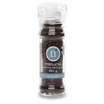 Natural Black Peppercorn with Grinder 50g