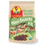 Sun-Maid Organic Raisins 9 Mini Boxes 125g