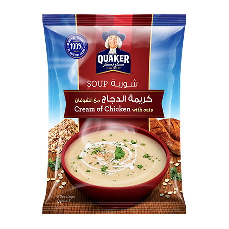 Quaker Cream of Chicken Soup with Oats 64g